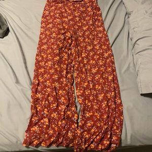 Comfy wide leg pants size S